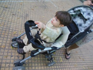 Combi Cosmo Stroller Review