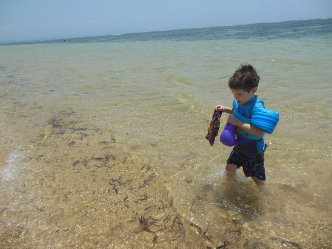 Gabriel Loved The Calm Water