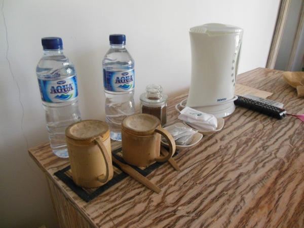 This Setup Was Useful For Warming Water For Bottles