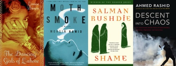 Pakistan book covers feature