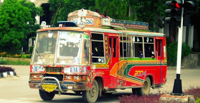 Pakistan bus