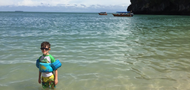 Langkawi with kids Malaysia beach vacation