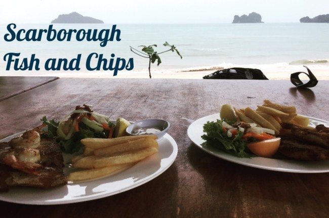 Tanjung Rhu Beach Scarborough Fish and Chips
