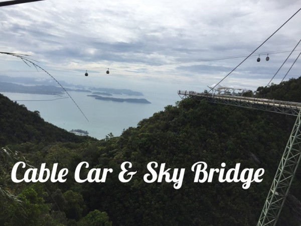 Cable Car and Sky Bridge Langkawi Malaysia