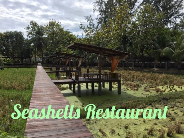 Rice Paddy Picturesque Restaurant Langkawi Malaysia with kids